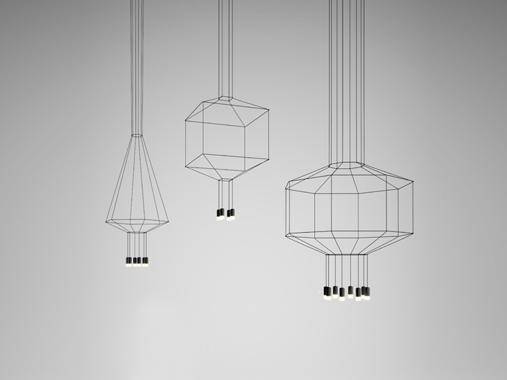 Wireflow Lighting Fixtures By Arik Levy For Vibia