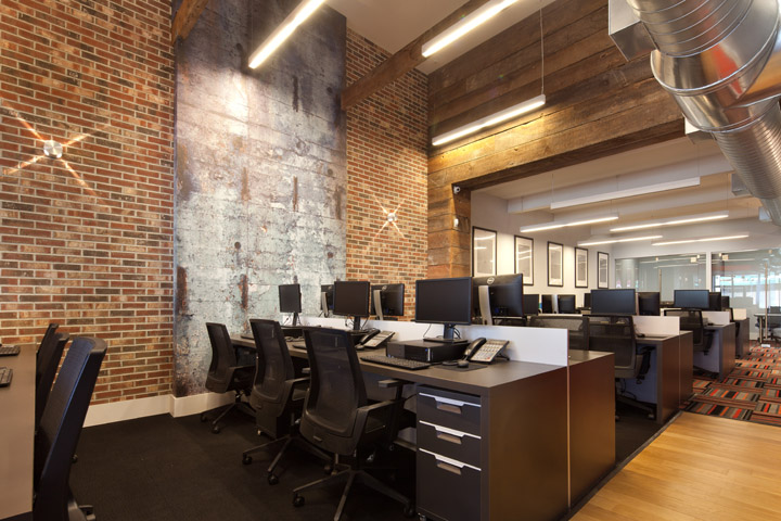 Office brooklyn new york retail for Decoration bureau new york
