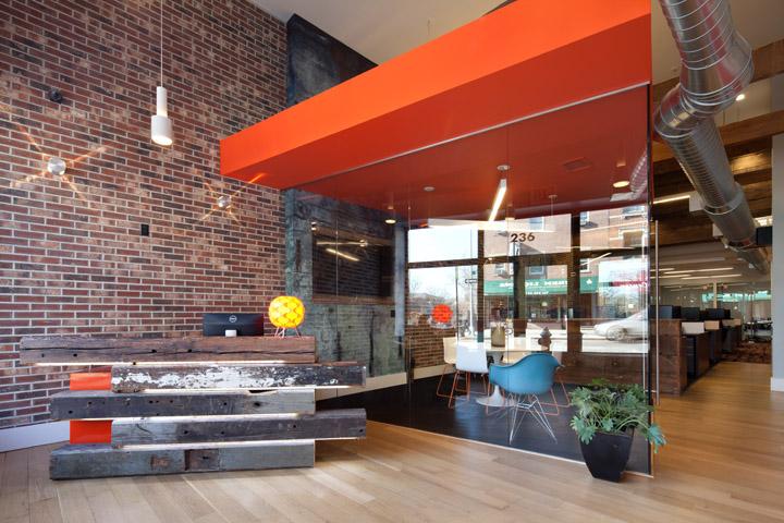 Grocery store retail design blog for Loft office design