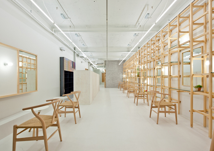 End Link Beauty Salon By Yasunari Tsukada Design Osaka