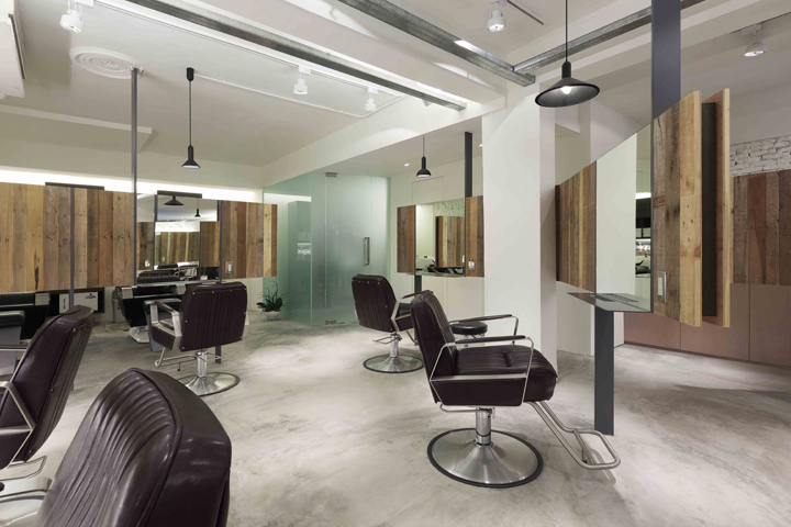 Essential hair salon by kc design studio taipei retail for Photos salon design