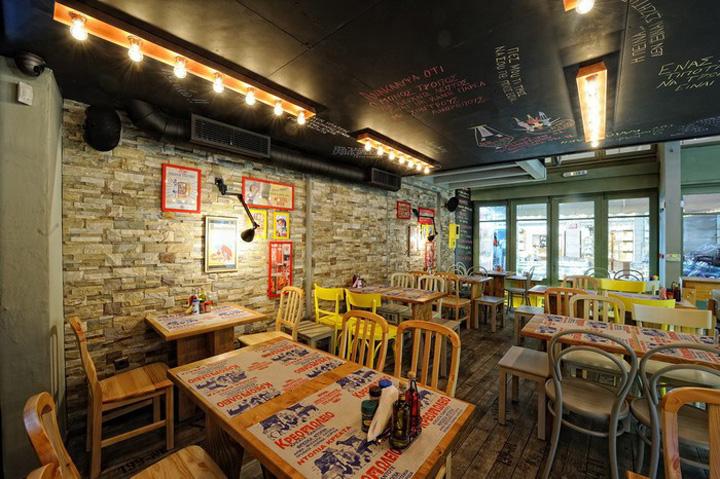» 50-50 Restaurant By Manousos Leontarakis & Associates