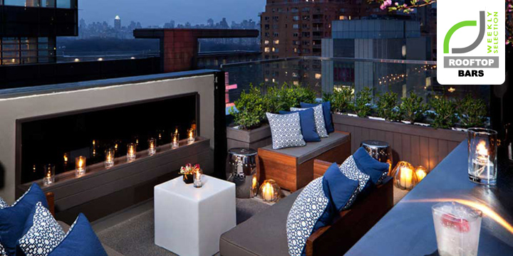 ROOFTOP BARS ROOFTOP BARS  - Luxury Hotels & Resorts Above 6 bar at 6 Columbus Hotel New York