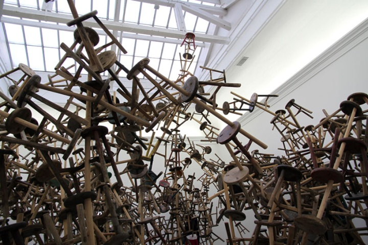 Ai Weiwei S Bang Installation At Venice Art Biennale 2013