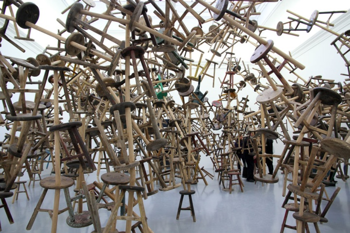 Ai Weiwei S Bang Installation At Venice Art Biennale 2013 Venice 187 Retail Design Blog