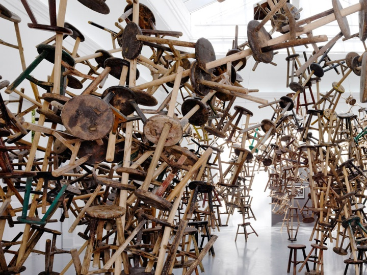 187 Ai Weiwei S Bang Installation At Venice Art Biennale