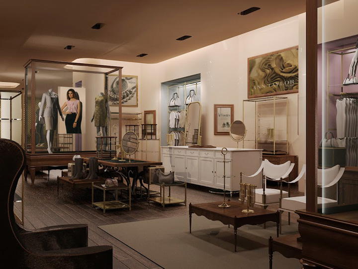 187 Ann Taylor Store By Incorporated New York
