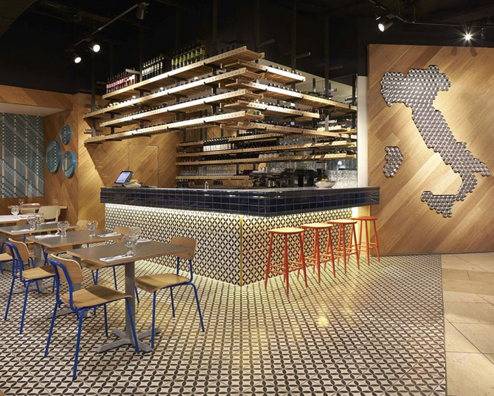 Ask italian restaurant at bluewater by gundry ducker