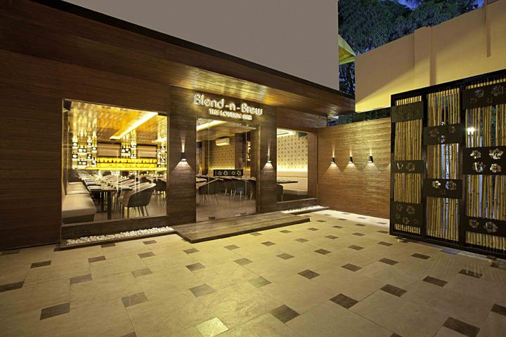 Blend Brew Lounge Bar By C S Architects Mumbai