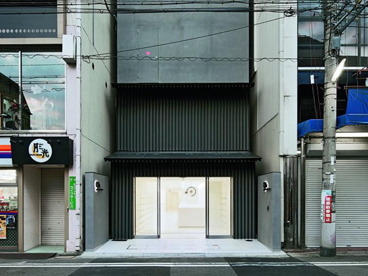 Capsule hotel by sigma architectural design kyoto for Design hotel kyoto