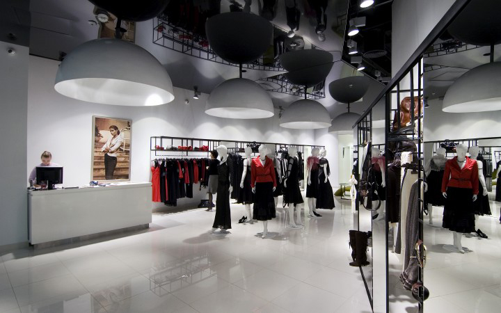 Caterina shop by a d design - Men s clothing store interior design ideas ...