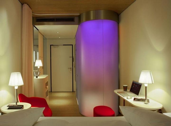 Bathroom Design Jobs Glasgow citizenm hotelconcrete architectural associates, glasgow – uk