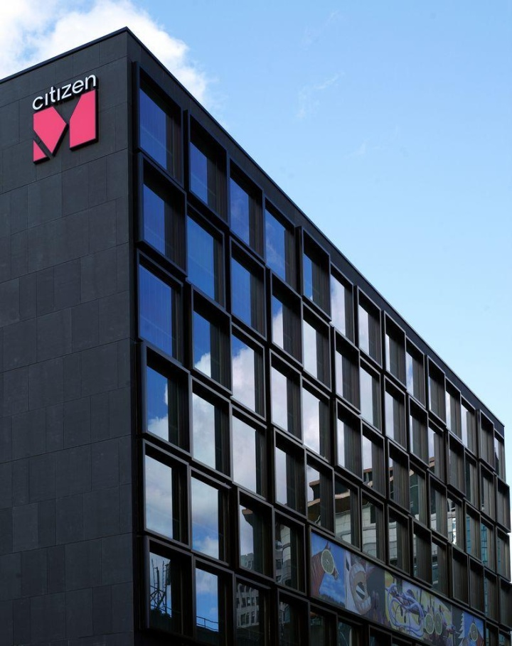 Citizenm hotel by concrete architectural associates for Design hotel glasgow