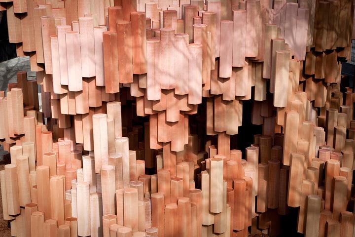 Corrugated Cardboard Pavilion by Miguel Arraiz Garcia David Moreno Terron Valencia Spain 03 Corrugated Cardboard Pavilion by Miguel Arraiz García & David Moreno Terrón, Valencia   Spain