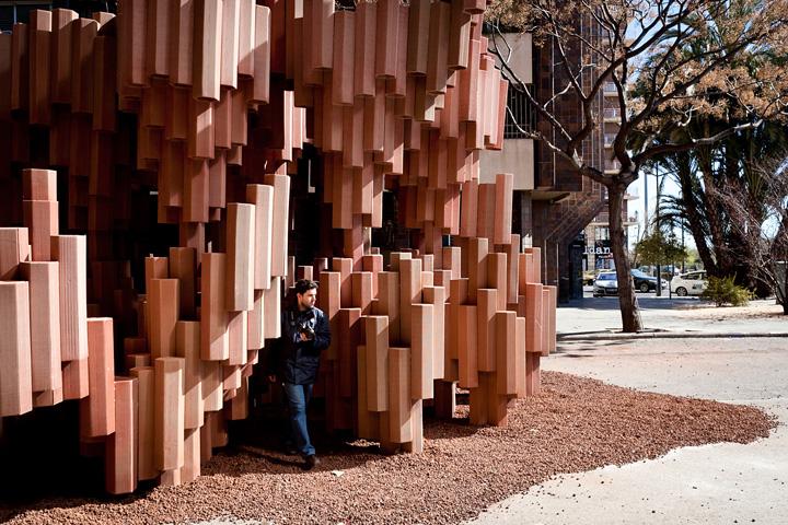 Corrugated Cardboard Pavilion by Miguel Arraiz Garcia David Moreno Terron Valencia Spain 05 Corrugated Cardboard Pavilion by Miguel Arraiz García & David Moreno Terrón, Valencia   Spain