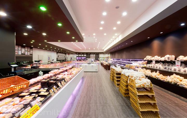 De Kleine Bassin butcher s shop by Frigomil Kortrijk Belgium 02 De Kleine Bassin butcher's shop by Frigomil, Kortrijk – Belgium