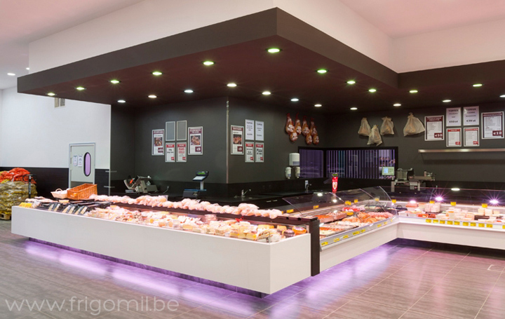 10 MUST VISIT RETAIL SHOPS IN THE WORLD 10 MUST VISIT RETAIL SHOPS IN THE WORLD 10 MUST VISIT RETAIL SHOPS IN THE WORLD De Kleine Bassin butcher s shop by Frigomil Kortrijk Belgium