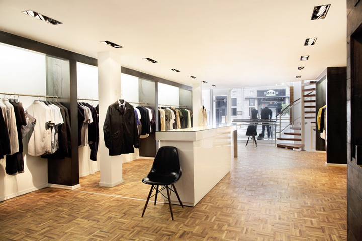 10 MUST VISIT RETAIL SHOPS IN THE WORLD 10 MUST VISIT RETAIL SHOPS IN THE WORLD 10 MUST VISIT RETAIL SHOPS IN THE WORLD Denham flagship store Amsterdam