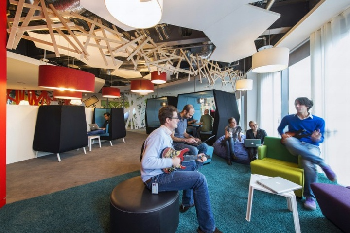 Google Ireland office by Camenzind Evolution, Dublin ...