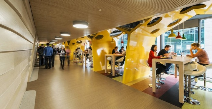 Google Ireland Office By Camenzind Evolution Dublin Retail Design Blog