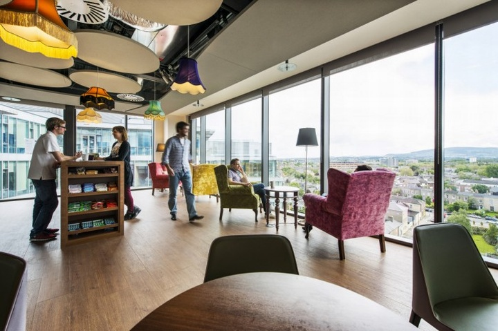 Google ireland office by camenzind evolution dublin for Office design google