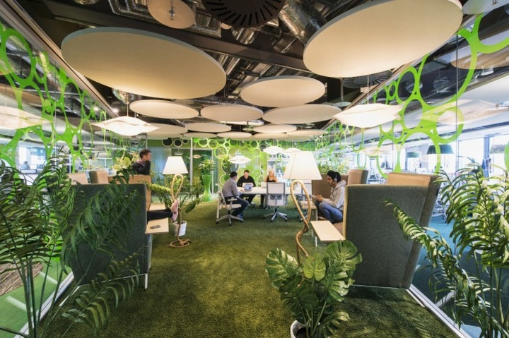Google Ireland Office By Camenzind Evolution Dublin Retail