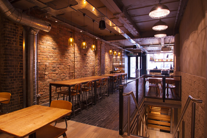 Imli street restaurant by b designers retail design