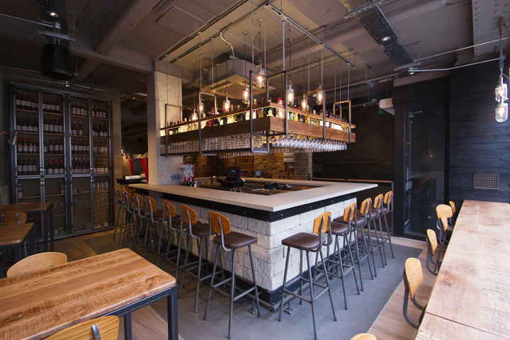 Imli street restaurant by b3 designers retail design blog for Restaurant design london