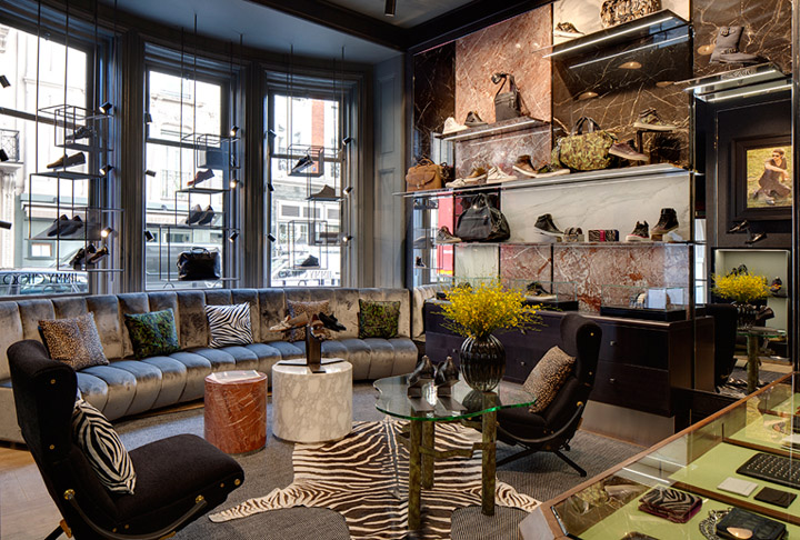 Jimmy choo flagship store london best design projects for House accessories stores