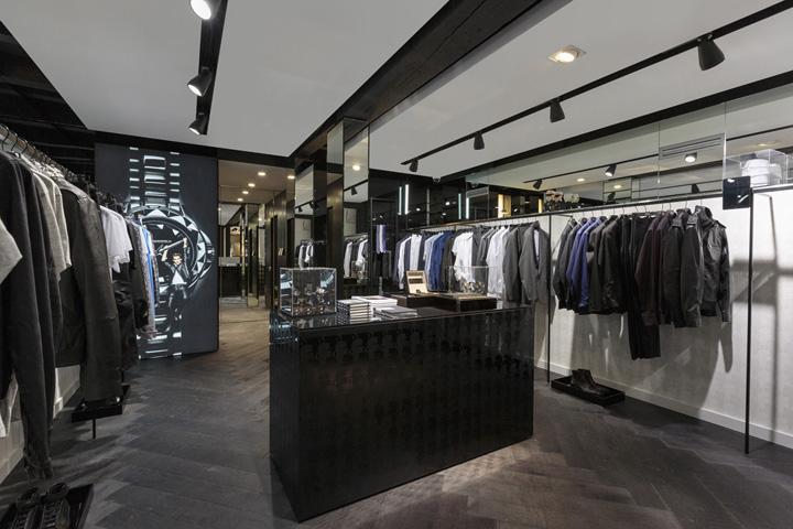 karl lagerfeld store amsterdam retail design blog. Black Bedroom Furniture Sets. Home Design Ideas