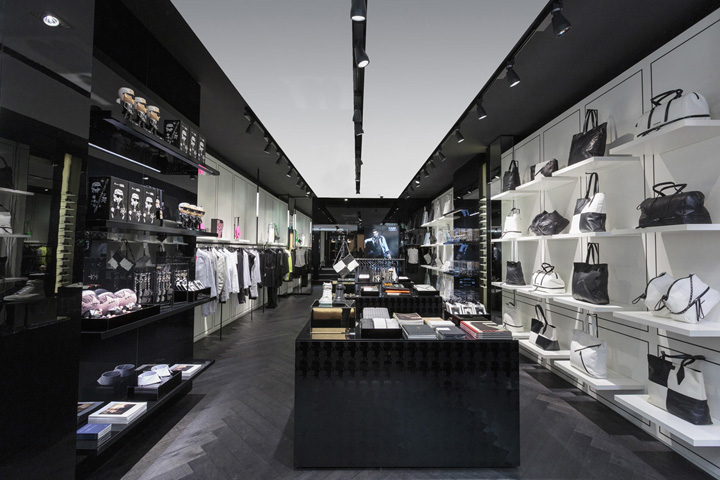 karl lagerfeld retail design blog. Black Bedroom Furniture Sets. Home Design Ideas
