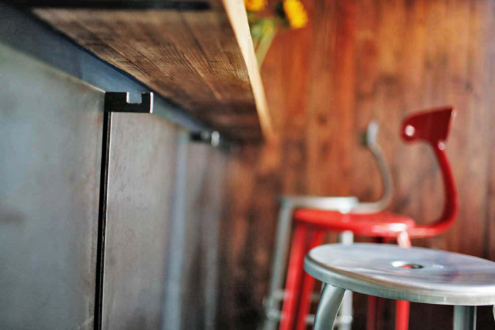 lulu po restaurant by kananshree vaidya design brooklyn. Black Bedroom Furniture Sets. Home Design Ideas