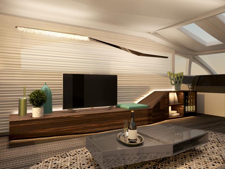 Modern chandelier by manooi 05 retail design blog for Modern architecture design blog
