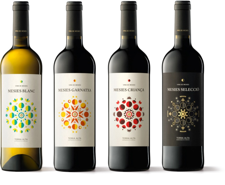 Mesies Wines packaging by Txell Gràcia & Albert Martínez ...