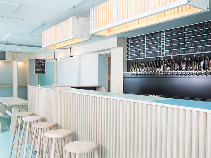 Mikkeller Amp Friends Bar By Rum4 And Studio K Copenhagen