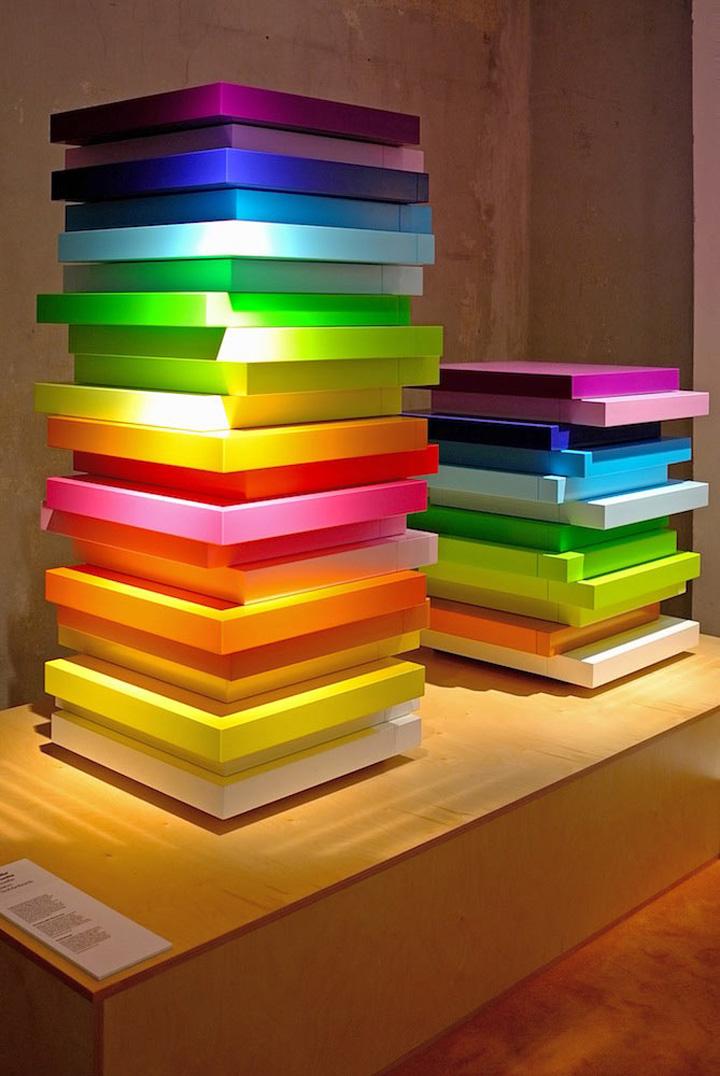 mille feuille storage units by emmanuelle moureaux. Black Bedroom Furniture Sets. Home Design Ideas