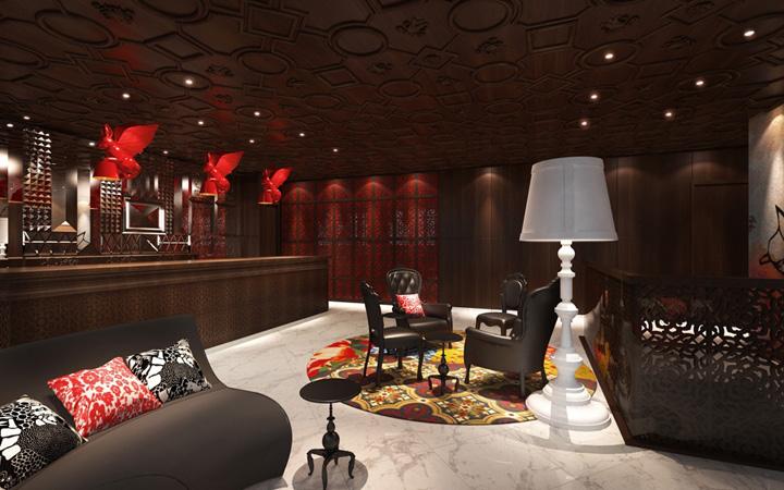 Mira moon hotel by wanders yoo hong kong retail for Design hotel hong kong