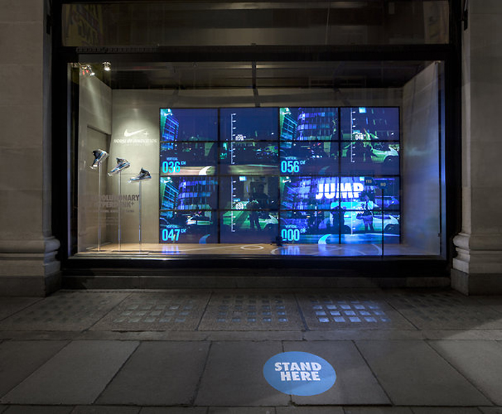 Nike Kinetic Windows At Selfridges By Staat London