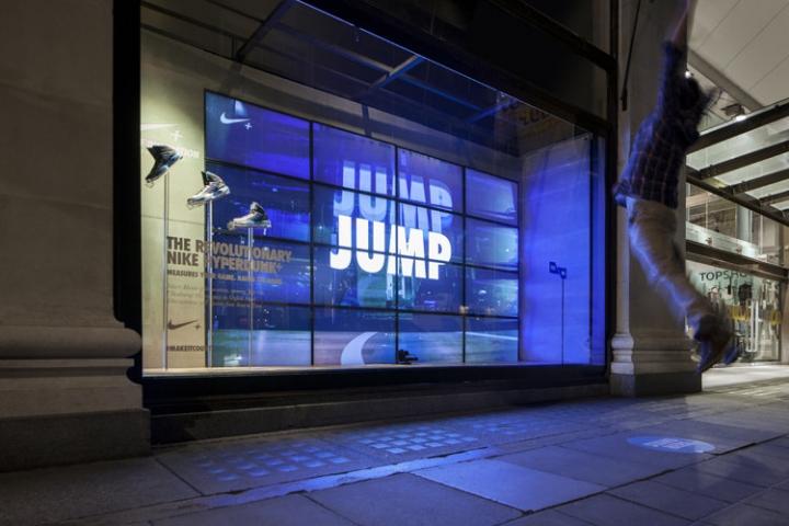 fd65d26e4ac5 » Nike kinetic windows at Selfridges by …