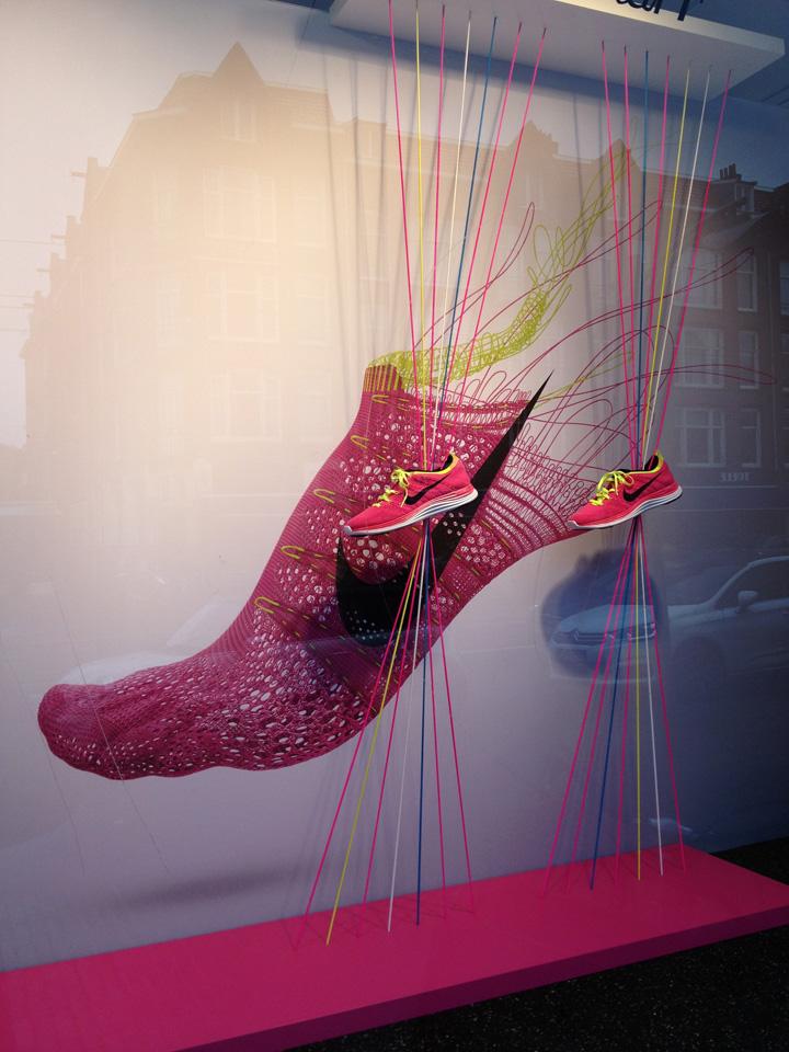187 Nike Windows By Con Fetti Amsterdam