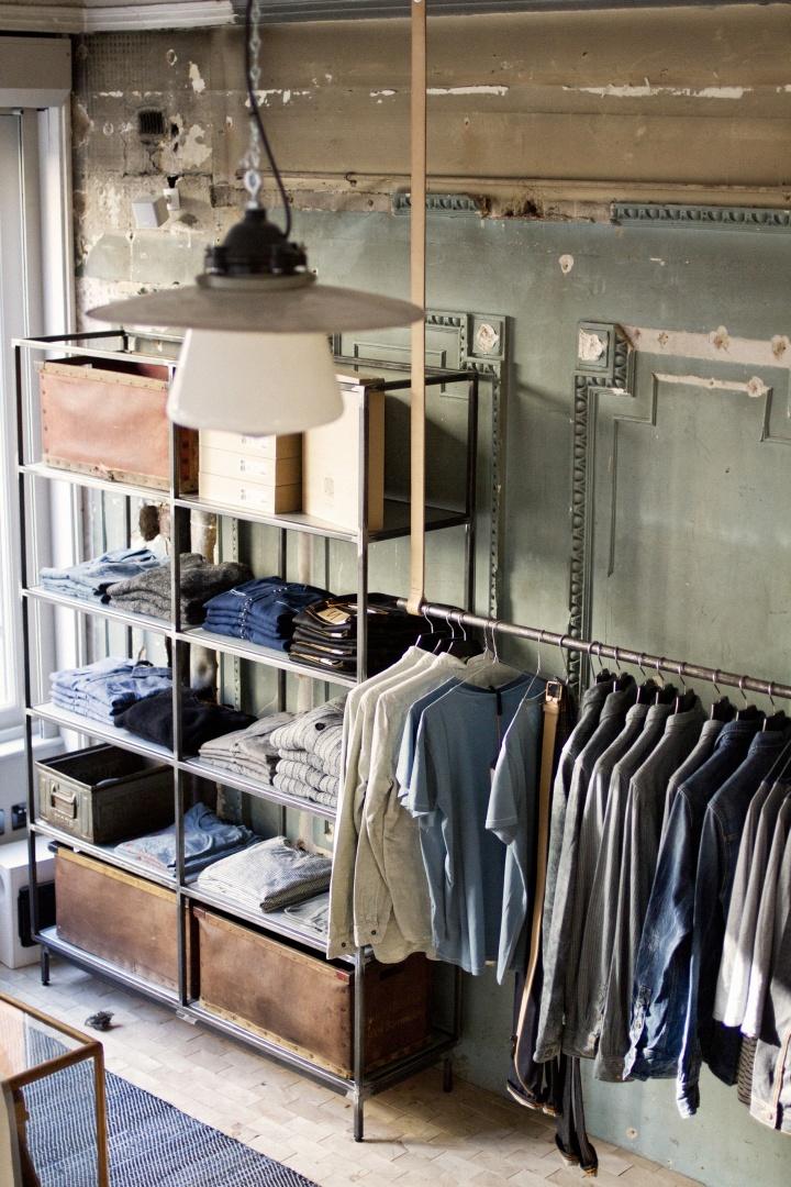 Nudie jeans store global repair station london retail for Designer furniture shops london