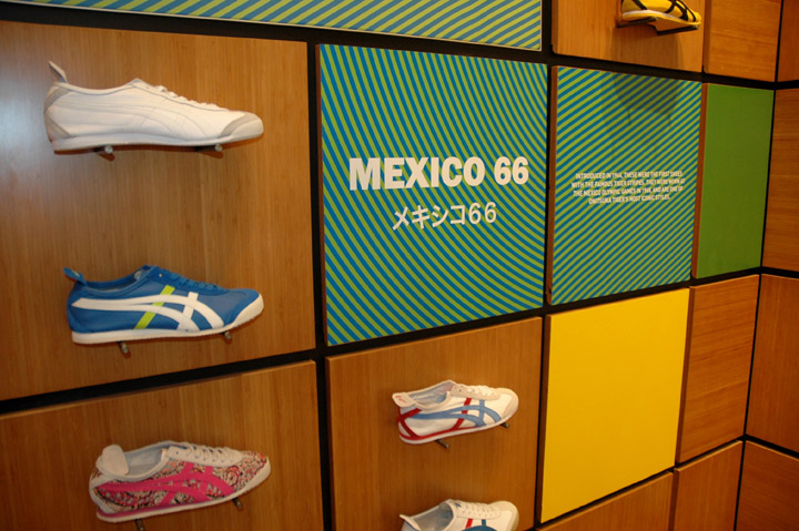 Onitsuka Tiger store design and brand activation campaign by ... cfeef7ce06556