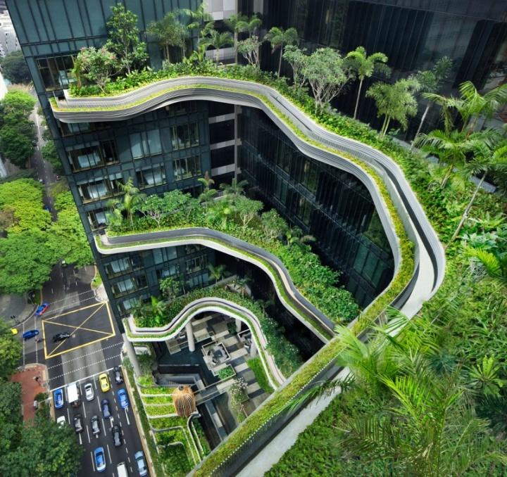 parkroyal hotel singapore. Black Bedroom Furniture Sets. Home Design Ideas