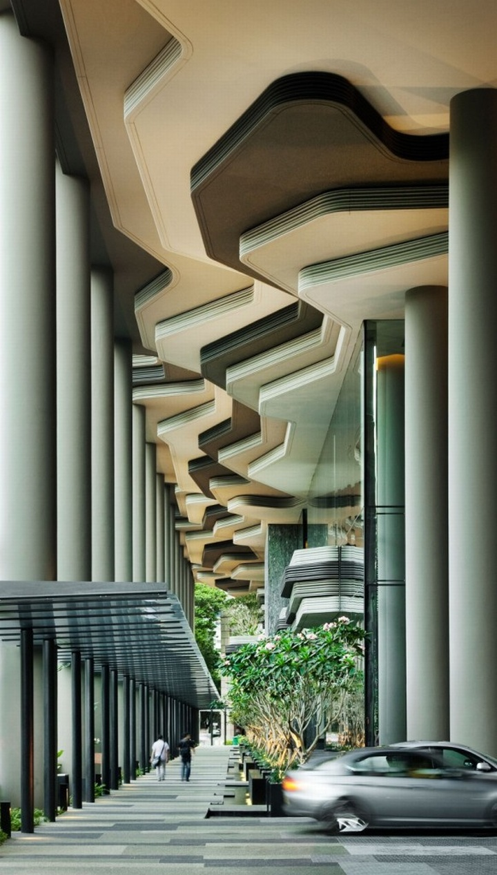 Parkroyal hotel singapore for Design hotel singapore