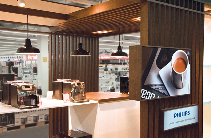 Philips Saeco Shop In Shop By Mojo Amsterdam 187 Retail