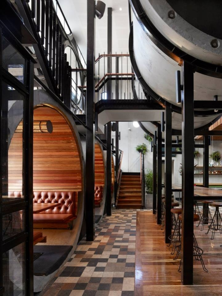 Prahan hotel by techn architects melbourne retail for Hotel design blog