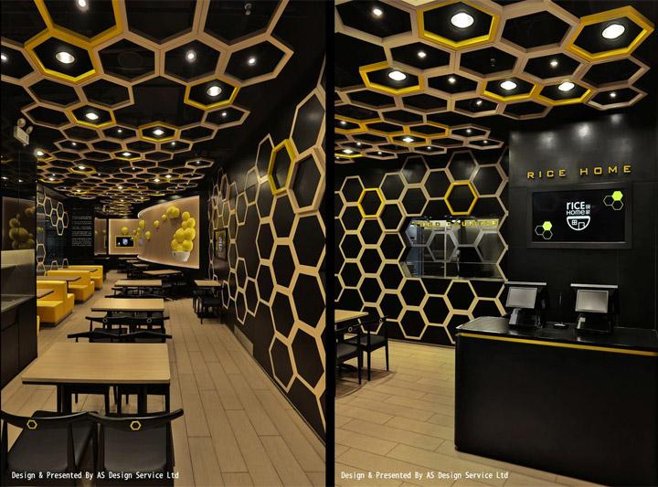 A S Design rice home restaurant by as design guangzhou china retail design