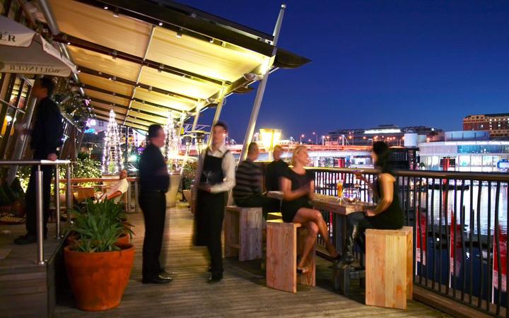 Rooftop Bars Roof Top Bar At Coast Sydney Retail Design Blog