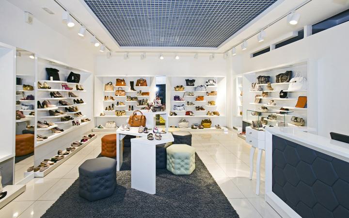 Shoe store design concept