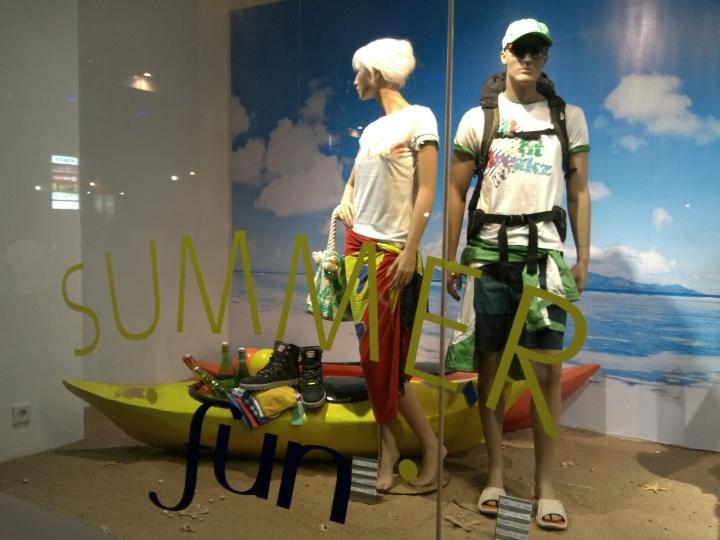 Sogo Department Store window display